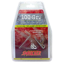 """Swhacker 125 Grain 2 1/4"""" Replacement Blades 6 Pack"""