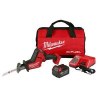 Milwaukee Reciprocating Saw 18V Lithium-Ion Brushless 5.0Ah Battery Charger Bag