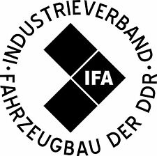 IFA Aufkleber 40 cm Trabant Trabi Simson W50 DDR