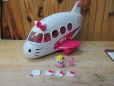Hello Kitty Jet Plane Airplane Toy Playset