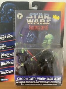 Star Wars Shadows of the Empire Prince Xizor Vs. Darth Vader & Comic EU Edition