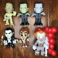 Funko Mystery Mini Lot Horror Monsters! Frankenstein Dracula It Mummy Chocula