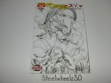 Darkness Eva #3 Comic 2008 Convention Exclusive Variant 08 Dynamite Sketch Cover