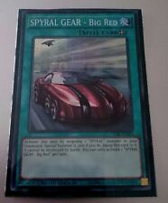 *** SPYRAL GEAR - BIG RED *** (ENGLISH) SUPER RARE TDIL-ENSE4 3 AVAILABLE YUGIOH