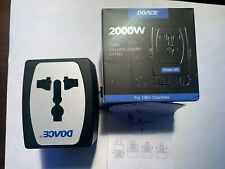 Doace Travel Converter Adapter Combo (Model M9) 2000W