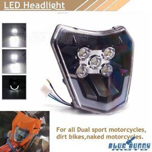 Enduro LED Headlight For XC XCW XCF FC FE 250 300 350 450 Yamaha TTR230 WR250F