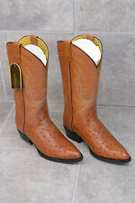 Premier Leather Cowboy Boots Size 27 Made in Mexico NWT