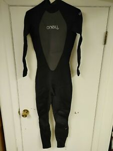 NEW O'Neill Mens Full Wetsuit Size Medium Reactor 3/2 Black