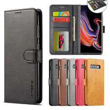 Samsung Galaxy S10 S8 S9 Plus Handy Tasche Flip Case Cover Wallet Schutz Hülle