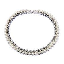 Women Wedding Party Jewellery Wedding Set  Wedding Bridal Pearl Necklace XS1