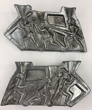 Vintage 3 Lead Soldier with Guns Casting Mold 5262 Rapaport Brothers