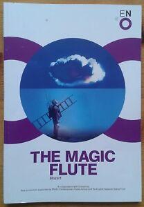 The Magic Flute programme English National Opera (ENO) 2013 Ben Johnson