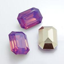 Wholesale 20PCS  Resin rhinestones octagonal beads 13x18mm diy hot
