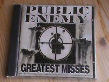 Public Enemy-Greatest Misses * 1. Press V. 1992 DEF JAM REC. 472031 2 * Comme neuf
