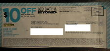 (2) Bed Bath & Beyond - ($10 Off Any $30 Purchase) In-Store or Online