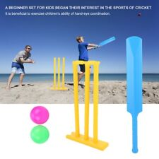 Children Kids Cricket Play Toys Set Interactive Board Game Outdoor Sports Gifts