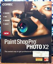 COREL, Paint Shop Pro Photo X2. Windows, 5 Star Rating.. Pre-Owned