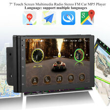 7''Touch Multimedia Radio Stereo Bluetooth GPS FM Car MP5 Player for iOS/Android