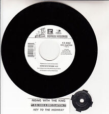"""B. B. KING & ERIC CLAPTON Riding With The King 7"""" 45 rpm vinyl record NEW"""