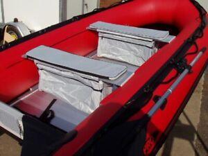 LARGE, Inflatable boat padded Seat Bag for dinghy sib storage waveline seago