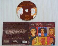 CD ALBUM DIGIPACK ONE WORLD MANY CULTURES  11 TITRES 2006