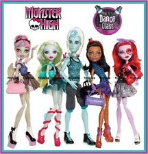 Monster High DANCE CLASS Doll 5 Pack Gil Webber Rochelle EXCLUSIVE Gift Set NEW!