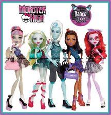 Monster High DANCE CLASS Doll 5 Pack Gil Webber Rochelle EXCLUSIVE Gift Set NEW!