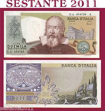ITALIA ITALY  2.000 2000 LIRE GALILEO GALILEI 8.10. 1973,  P 103a,  FDS /  UNC
