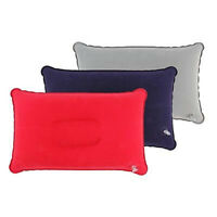 FP- KE_ Inflatable Pillow Travel Air Cushion Camp Car Plane Bed Sleep Head Rest