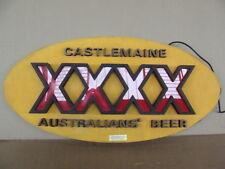 INSEGNA AUSTRALIANS BEER XXXX CASTELMAINE OLD SIGN PUB BIRRA EPOCA