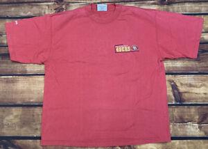 VTG 90's Majestic San Francisco 49ers NFL Embroidered Logo T-Shirt Men's SZ L
