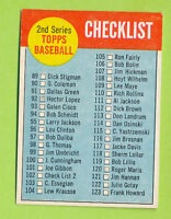 1963 Topps 2nd Series Checklist (89-176) - White on Red (#102)