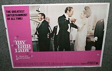 MY FAIR LADY original lobby card AUDREY HEPBURN/REX HARRISON 11x14 movie poster