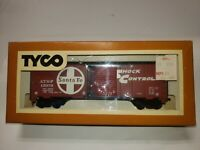 Tyco 311U HO Scale SANTA FE 40 Foot Box Car IN Box - Vintage Original Packaging