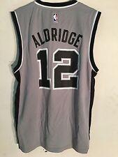 Adidas NBA Jersey San Antonio Spurs LaMarcus Aldridge Grey sz L