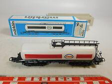 AU267-0,5# Märklin H0/AC 4650 Vagone cisterna/Carro merci Esso DB, W+