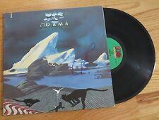 "STEVE HOWE of YES signed DRAMA 1980 Record / Album COA ""Tempus Fugit"""