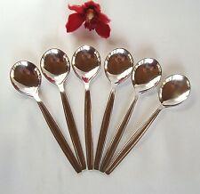 6 moccalöffel e/o piccoli cucchiaini CFH HUTSCHENREUTER & Co 10,7 cm/al 771