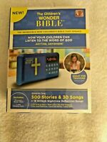 Wonder Bible Children's Bible As Seen On TV 500 Stories 30 Songs WB061124 NEW