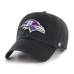 Baltimore Ravens 47 Brand Black Clean Up On Field Adjustable Cotton Dat Hat Cap