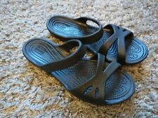 Crocs Womens Sandals Cloggs Slip On Strap Comfortable Fit Size UK 4 VGC