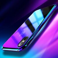 IRIDESCENT Luxury Ultra Slim Shockproof Case Cover for iPhone SE X 10 8 7 Plus