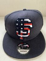 New Era San Francisco Giants Americana USA Flag 9FIFTY Snapback 950 Hat NEW