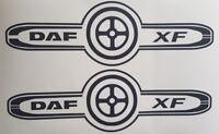 DAF XF TRUCK LOGO DECAL X2  DAF XF CF LF HAULAGE STICKER TRUCK DRIVER