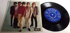 THE ROLLING STONES FIVE BY FIVE DECCA EXT PLAY 1964 1st PRESS UNBOXED DECCA LOGO