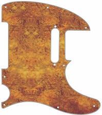 Telecaster Graphic Pickguard Custom Fender Tele 8 Hole Guitar Venetian Plaster