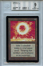 MTG Beta Sol Ring BGS 9.0 (9) Mint Card Magic The Gathering WOTC 7434