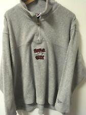 Vintage Reebok Above The Rim Men's 100% Polyester 1/2 Zip Sweatshirt Jacket Sz M