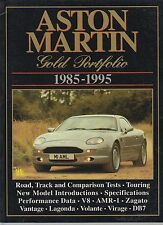 ASTON MARTIN V8 LAGONDA ZAGATO VIRAGE AMR-1 DB7 1985-1995 PERIOD ROAD TESTS BOOK