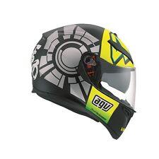 AGV K3 SV WINTER TEST BLACK/YELLOW Valentino Rossi VR46 Motorbike Helmet